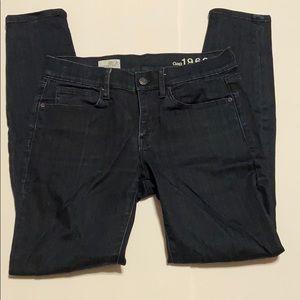 Gap 1969 Dark Blue Legging Jean 26/2r